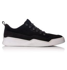 Hinson Sneaker zwart suede-leer