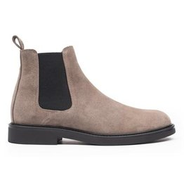 Hinson Chelsea taupe suede