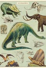VINTAGE POSTER - Dinosaurussen (50x70cm)