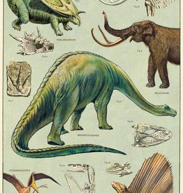 VINTAGE POSTER - Dinosaurs(50x70cm)