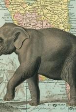 ELEPHANT - VINTAGE POSTER 70 cm x 50