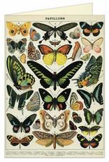 CARTE DE VOEUX VINTAGE - Papillons