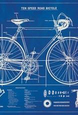 AFFICHE VINTAGE - Photocalque Vélo (70x50cm)