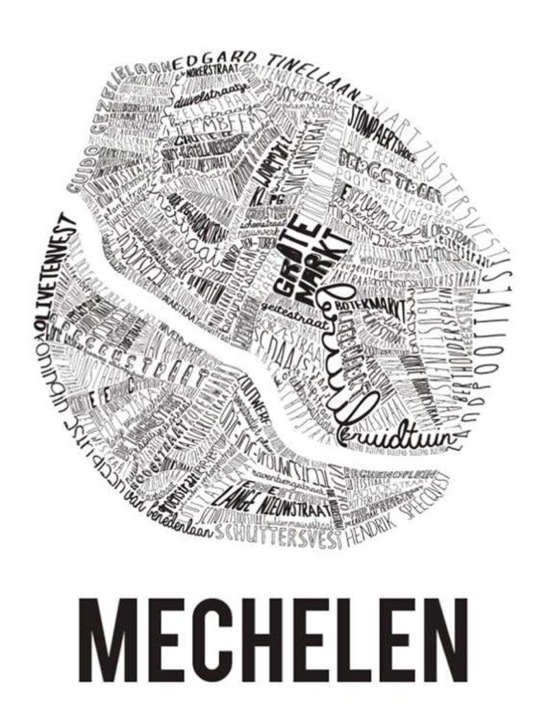 POSTER - Mechelen (70x100cm)