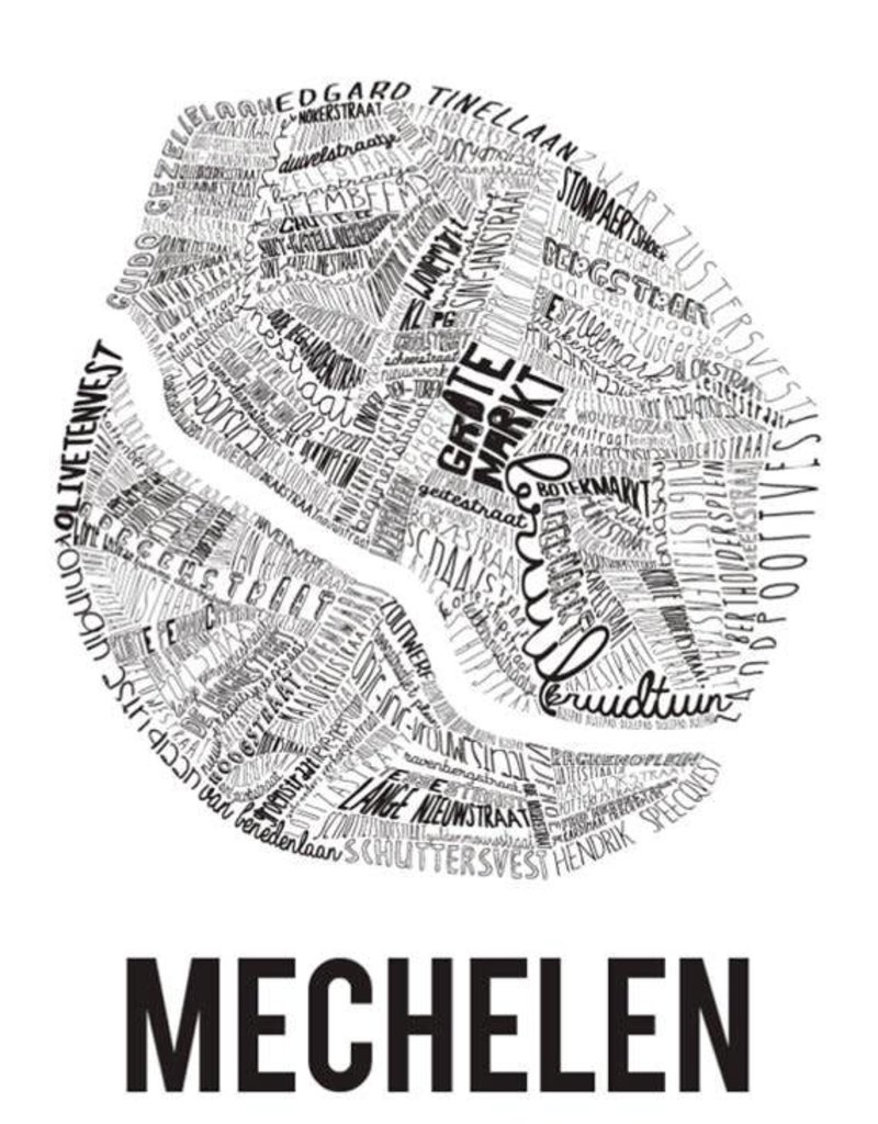 Poster MECHELEN
