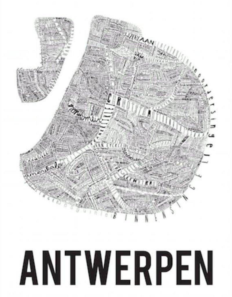 AFFICHE - Antwerpen (70x100cm)