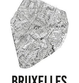 POSTER - Bruxelles (70x100cm)