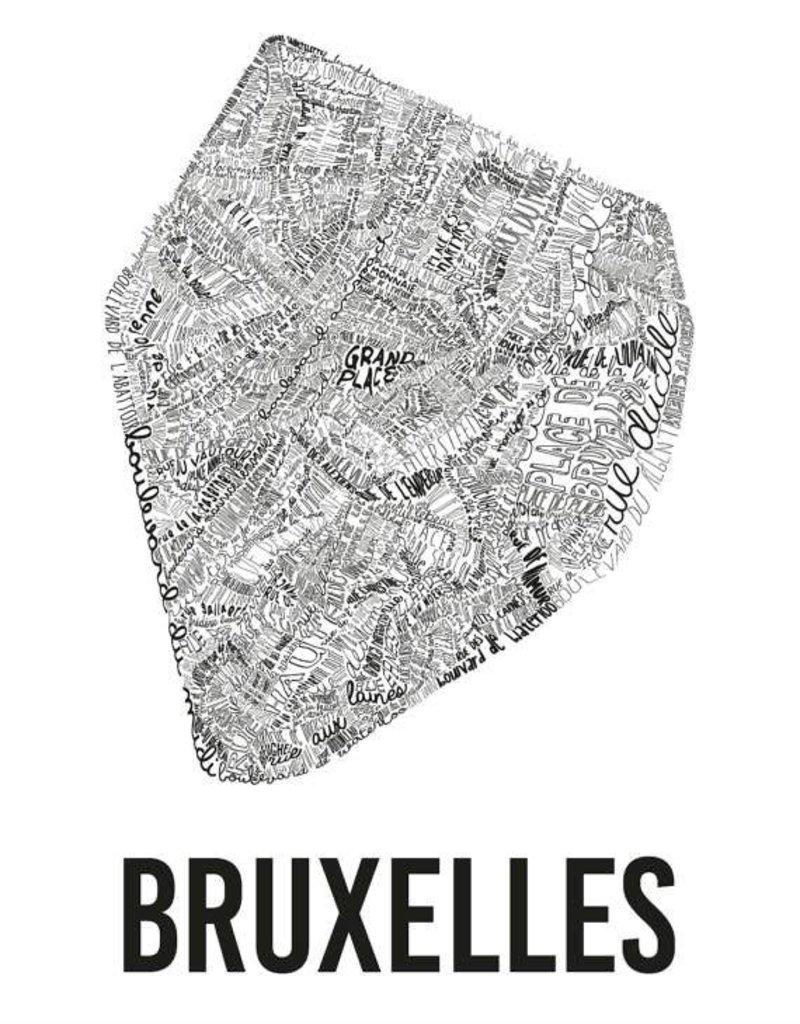 AFFICHE - Bruxelles (70x100cm)