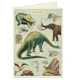 CARTE DE VOEUX VINTAGE - Dinosaures