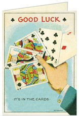 VINTAGE GREETING CARD - Good Luck Cards