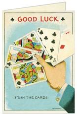 VINTAGE WENSKAART - Good Luck Cards
