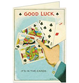 GOOD LUCK CARDS - GREETING CARD & ENVELOPE