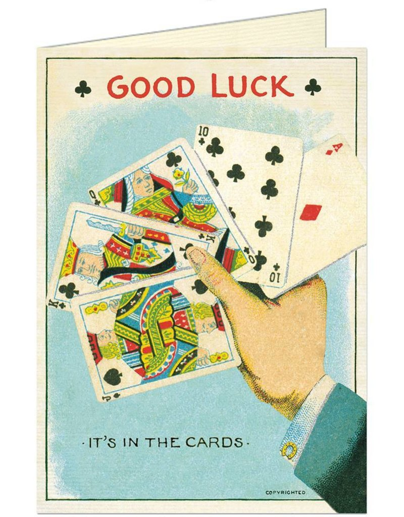 CARTE DE VOEUX VINTAGE - Good Luck Cards