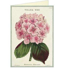 THANK YOU FLEUR 1 - GREETING CARD & ENVELOPE