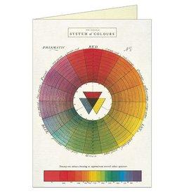 VINTAGE WENSKAART - Kleurencirkel