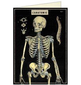 SKELETON - GREETING CARD & ENVELOPE