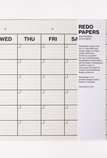 REDOPAPERS - Monthly Planner