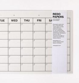 REDOPAPERS - Maandplanner