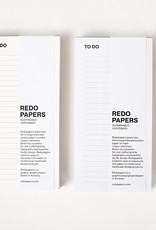 REDOPAPERS - To Do-Lijst