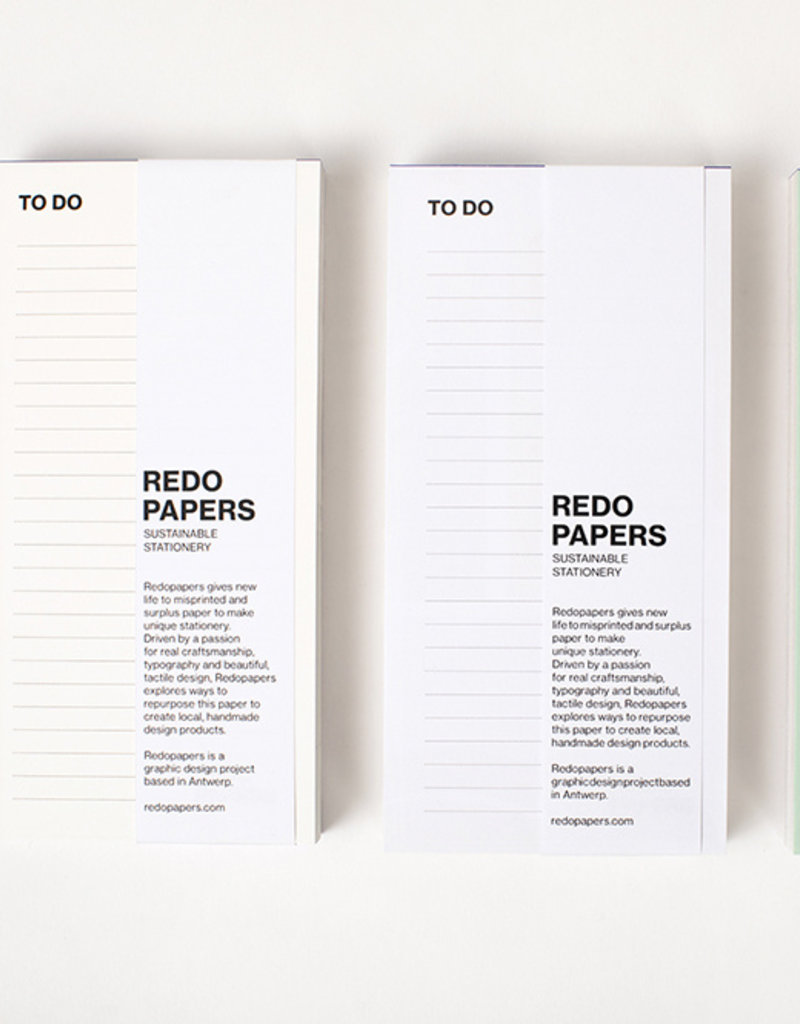 REDOPAPERS - To Do-Liste
