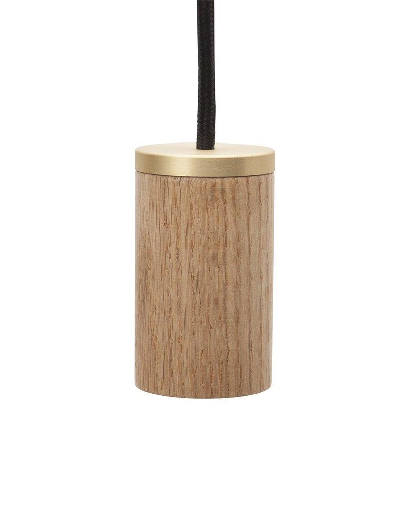 PENDENTIF LAMPE - Chêne