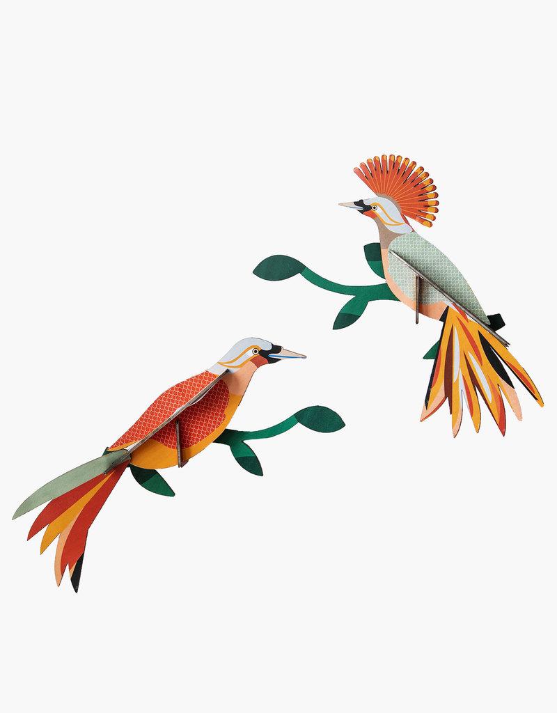 DIY WANDDECORATIE - Paradijsvogels - Obi