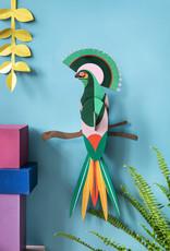 DIY WANDDECORATIE - Paradijsvogel - Gili