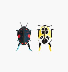 DIY WANDDECORATIE - Lieveheersbeestjes