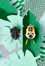DIY WALL DECORATION - Lady Beetles
