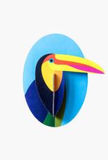 DIY DECORATION MURAL - Toucan