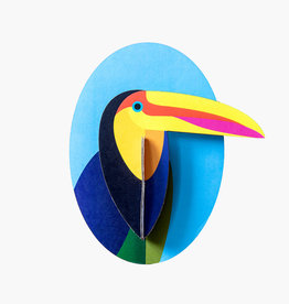DIY DECORATION MURAL - Toucan