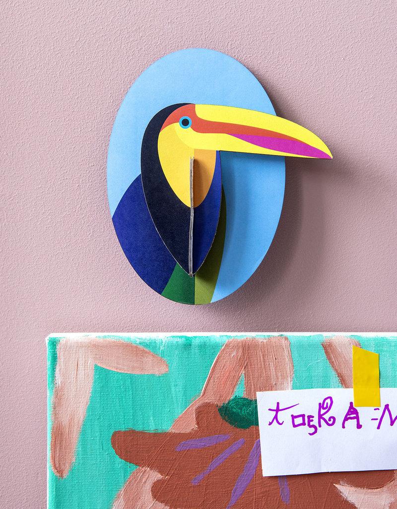 DIY WALL DECORATION - Toucan