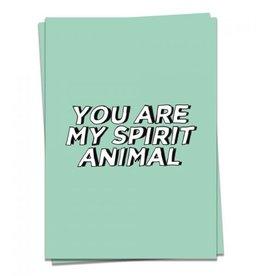 KAART BLANCHE - spirit animal