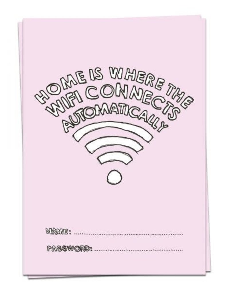KAART BLANCHE - Home is Where the WiFi Connects Automatically