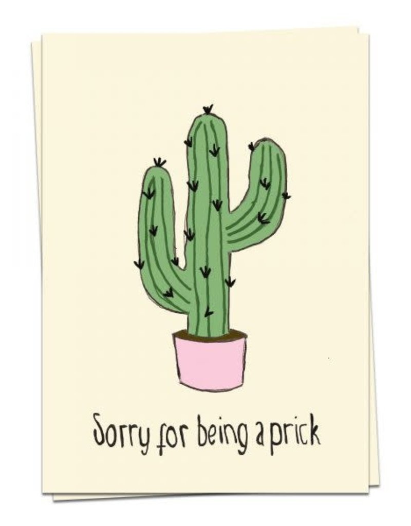 KAART BLANCHE - Sorry for Being a Prick