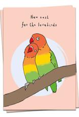 KAART BLANCHE - New Nest for the Lovebirds