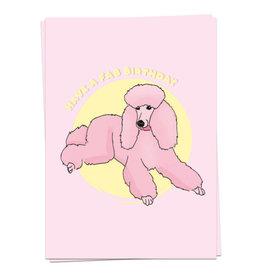 KAART BLANCHE - happy poodle