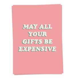 KAART BLANCHE WENSKAART - expensive gifts