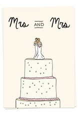 KAART BLANCHE - Mrs and Mrs Wedding Cake