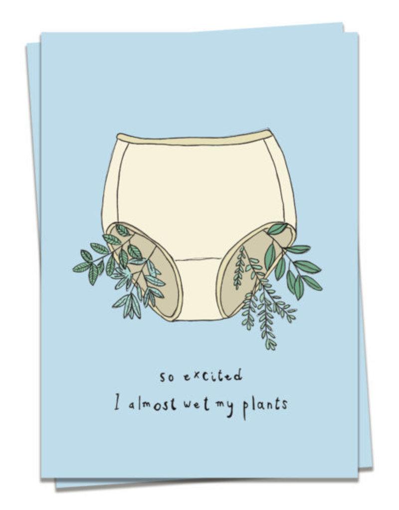 KAART BLANCHE WENSKAART - Wet My Plants