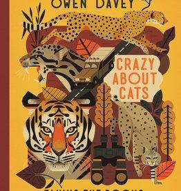 CRAZY ABOUT CATS - Owen Davey