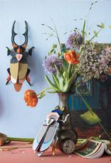 DIY WANDDECORATIE - Reuze Vliegend Hert