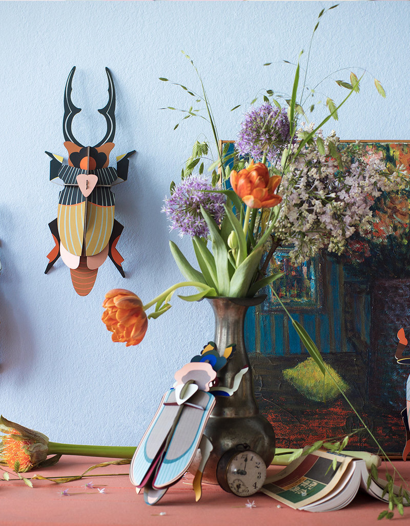 DIY WALL DECORATION - Giant Stag Beetle