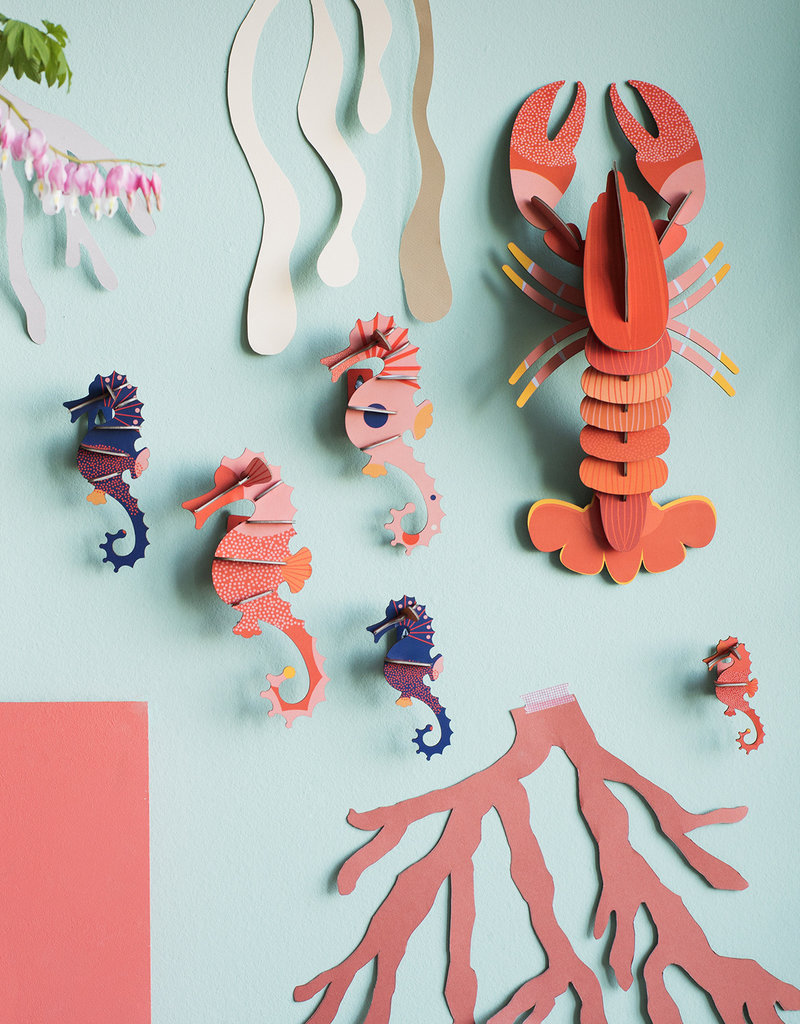 DIY WALL DECORATION - Sea Horses