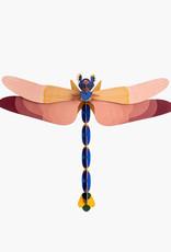 DIY WALL DECORATION - Giant dragonfly
