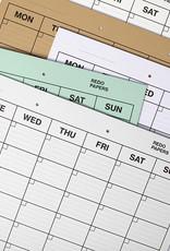 REDOPAPERS - Planificateur Mensuel