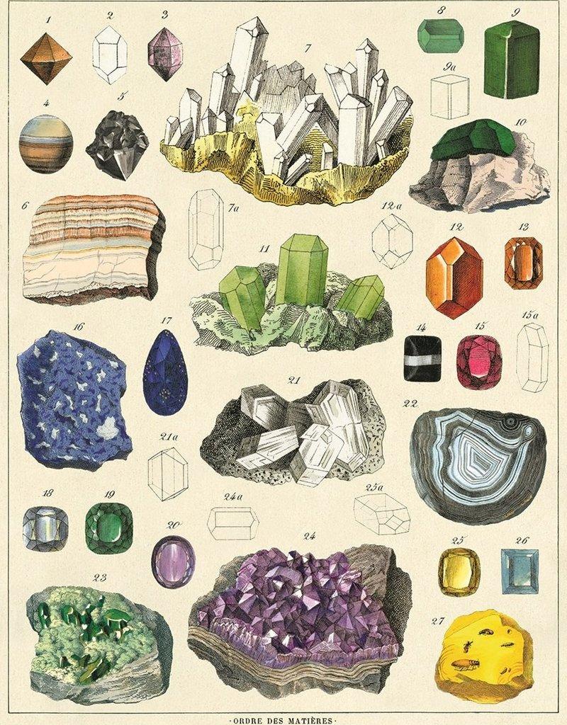 VINTAGE POSTER - Mineralogie (50x70cm)