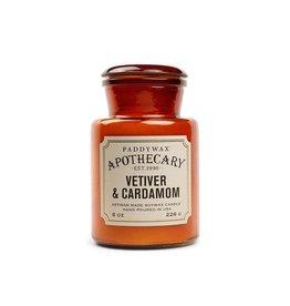 APOTHECARY - Bougie en Verre - Vetiver & Cardamom (226g)