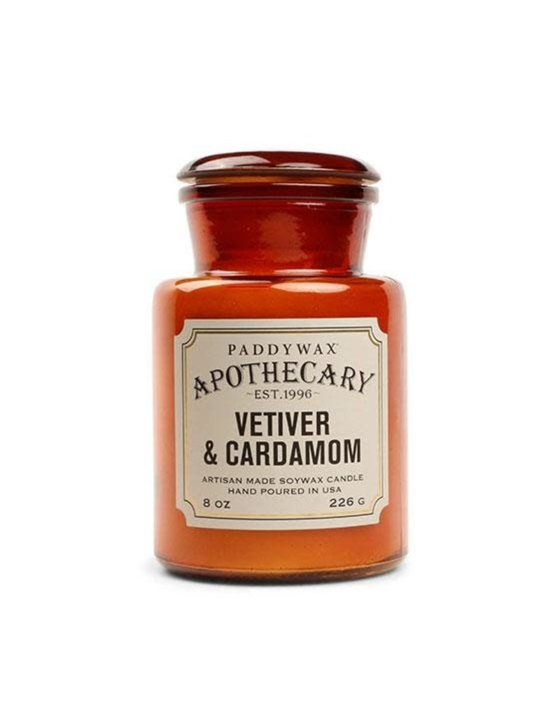 APOTHECARY - Glazen Kaars - Vetiver & Cardamom (226g)