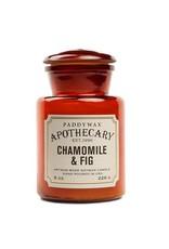 APOTHECARY - Glazen Kaars - Chamomile & Fig (226g)